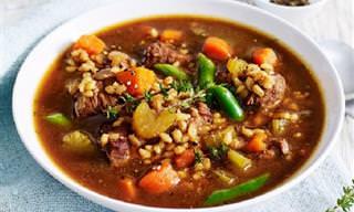 6 מתכונים נהדרים להכנת מרקים נפלאים