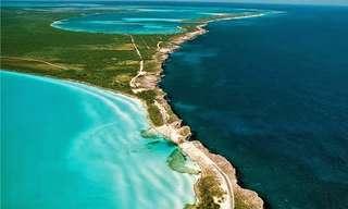 10 המקומות היפים ביותר על פני המים