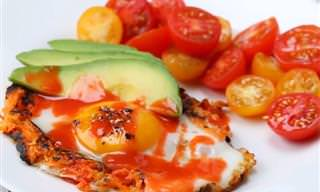 ביצה בקן עם בטטה - ארוחת בוקר טעימה ומזינה!