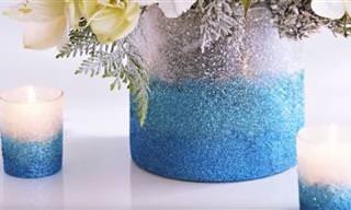 מדריך להפיכת אגרטל זכוכית רגיל למעוצב וייחודי