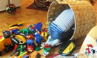 10 טיפים שיעזרו לכם להיפרד מהצעצועים המיותרים של הילדים