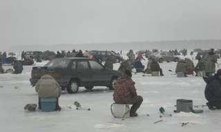תחביב הדיג בקרח