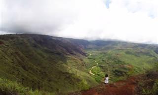 הנופים המופלאים של איי הוואי