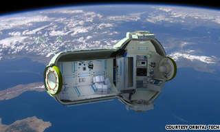 המלון הראשון בחלל ייפתח ב - 2016!