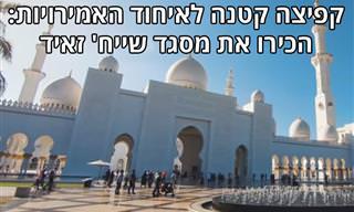 קפיצה קטנה לאיחוד האמירויות: הכירו את מסגד שייח' זאיד