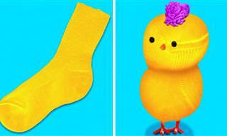 33 טיפים ליצירות מלאכה מהנות עבור ילדים ושימוש חוזר בצעצועים ישנים