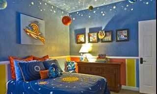עצובי חדרי ילדים חלומיים
