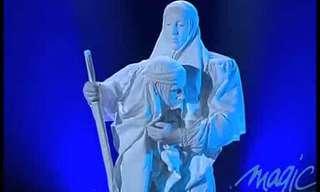 הפסל האנושי - מופע מהפנט!