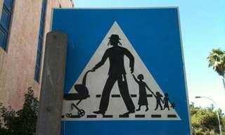 בבני ברק מקפידים על חציית כביש בטוחה!