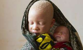 תמונות נדירות של תופעת הלבקנות בטנזניה