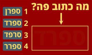 בחן <b>את</b> עצמך: עד <b>כמה</b> אתה רואה טוב גווני אדום?