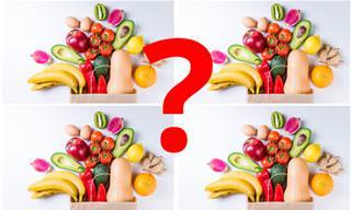 <b>מצא</b> <b>את</b> ההבדלים: גרסת המאכלים הצבעוניים