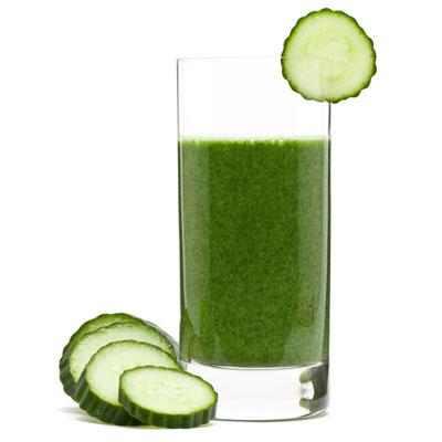 מתכון למשקה תרד, מלפפון וכרוב