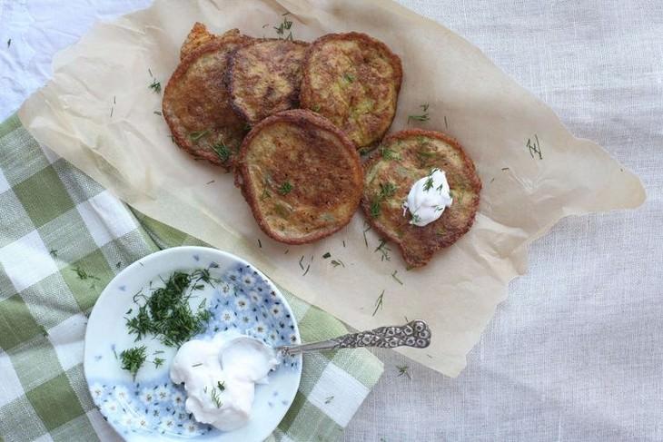 מתכון ללביבות תפוחי אדמה וזעפרן
