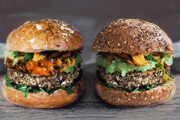 מתכון להמבורגר בריא ללא בשר