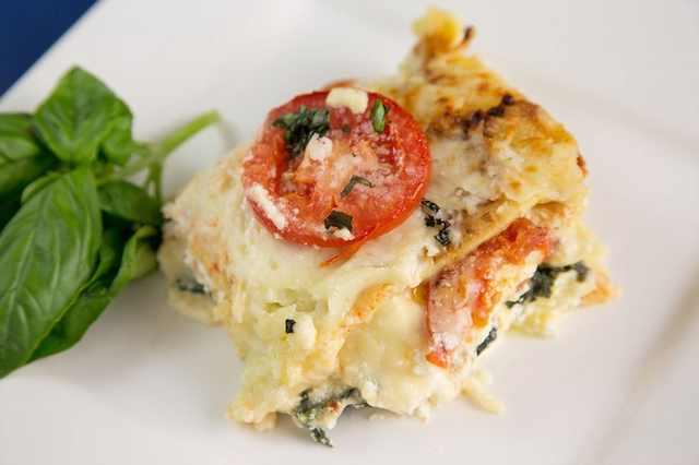 מתכון ללזניית תרד ועגבניות איטלקית