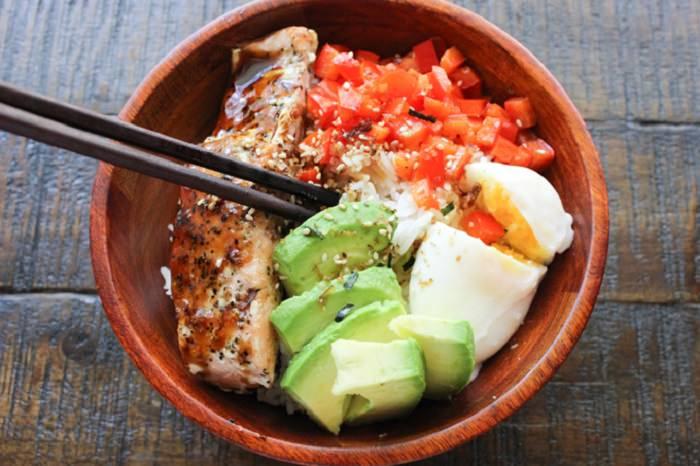 מתכון לדג סלמון ואורז