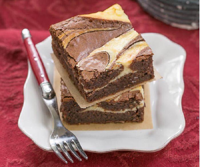 מתכון לבראוניז שוקולד וגבינה