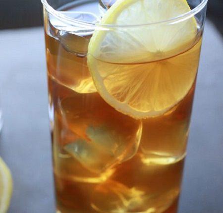 מתכון בריא לתה קר דבש וג'ינג'ר