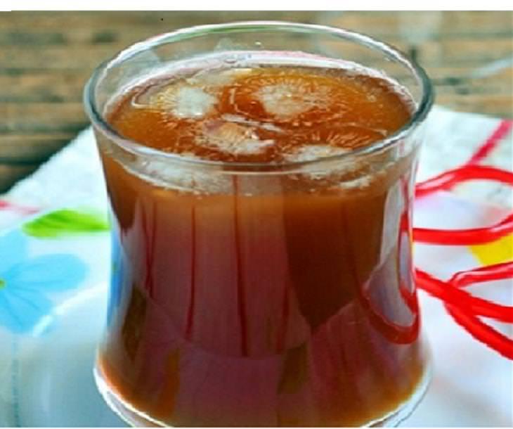 מתכון לתה סיידר תפוחים קר