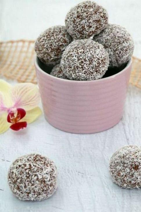 מתכון לכדורי שוקולד - קל להכנה