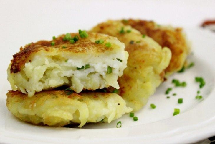 מתכון לקציצות תפוחי אדמה במילוי גבינות