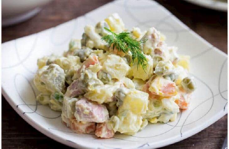 מתכון לסלט תפוחי אדמה רוסי קלאסי