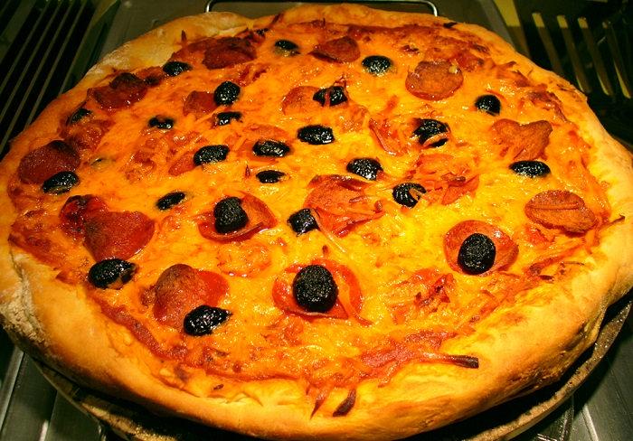 מתכון לפיצה מרגריטה עם גבינה מן הצומח