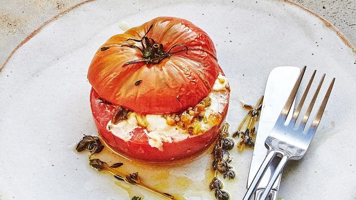 מתכון לעגבניות ממולאות בגבינות