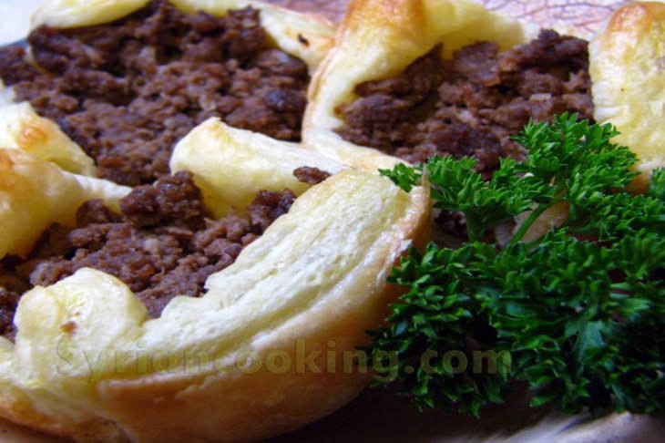 מתכון לספיחה – מנת מיני פאי בשר מהמטבח הסורי