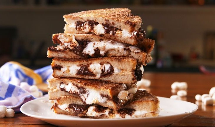 מתכון מפתיע לסנדוויץ' מרשמלו ושוקולד