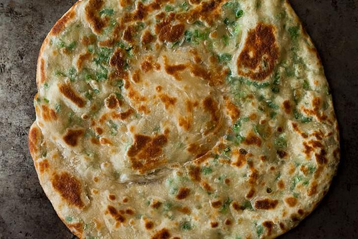 מתכון לפנקייק מלוחים עם בצל ירוק