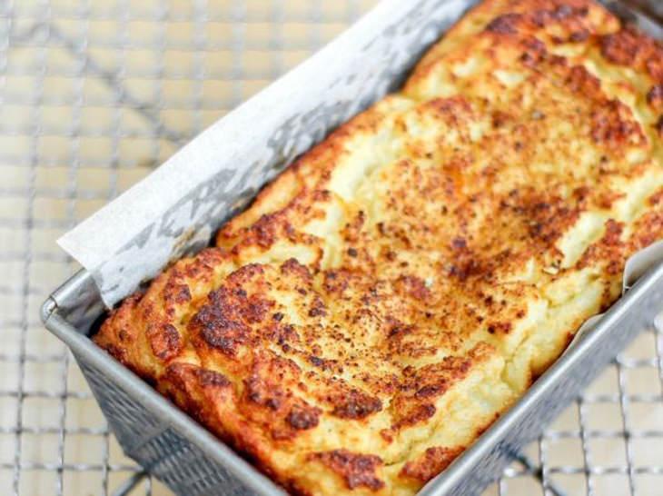 מתכון ללחם כרובית וחלבון
