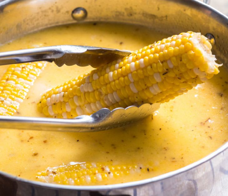 מתכון לתירס מתוק ברוטב חלב ודבש