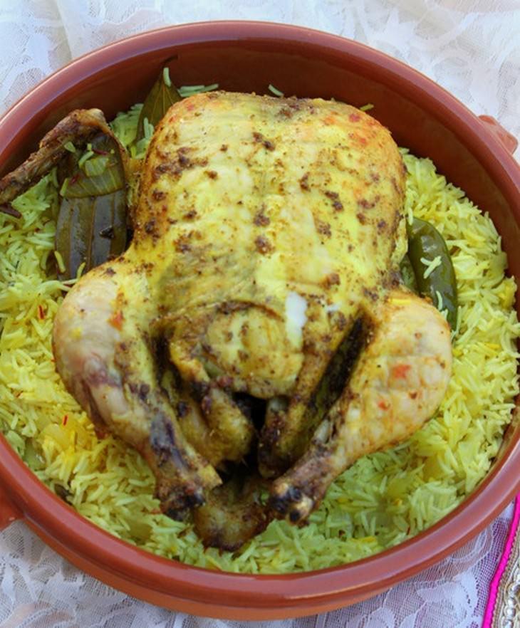 מתכון לעוף מנדי (Chicken Mandi)
