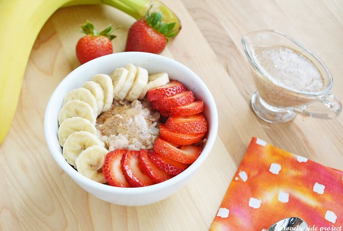 מתכון לדייסת קינואה עם תותים ובננות