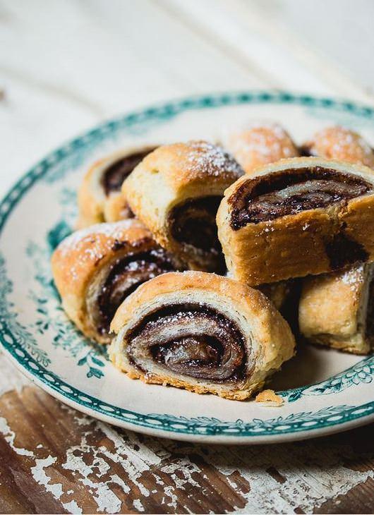 מתכון לרוזלך - עוגיות שושנים ושוקולד