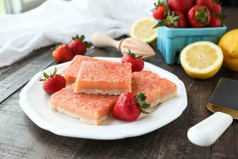 חטיפי תות-לימון אפויים