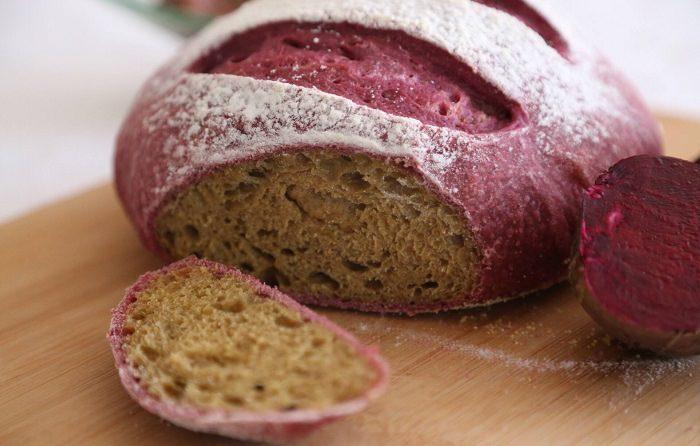 מתכון מיוחד ללחם סלק סגלגל