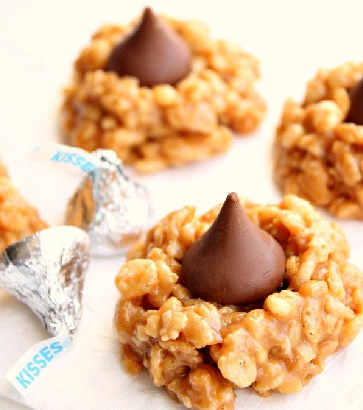 מתכון לעוגיות נשיקות שוקולד וחמאת בוטנים