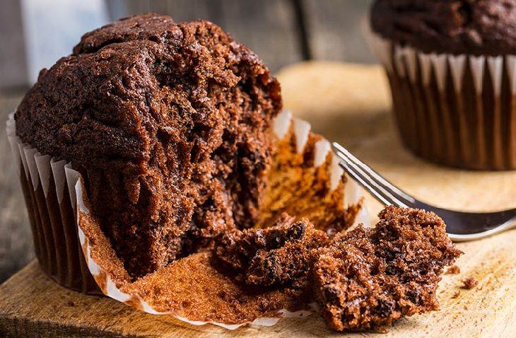מתכון מפתיע למאפינס שוקולד עם תרד