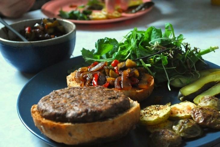 מתכון להמבורגר ירקות