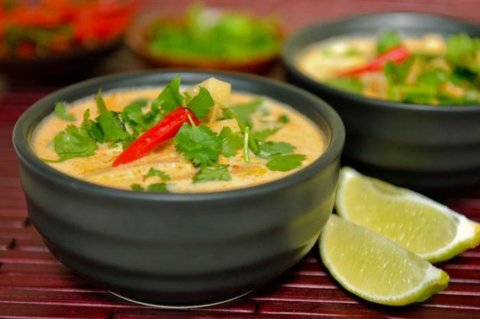 מתכון למרק תאילנדי - טום יאם