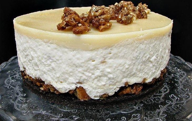 מתכון מיוחד לעוגת גבינה קראנצ'ית של יהודית אביב
