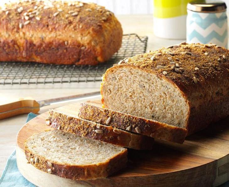 מתכון ללחם אורז בר עם גרעיני חמנייה