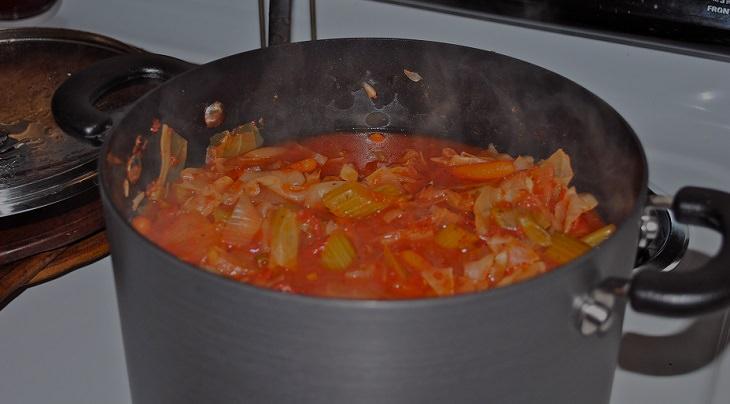 מתכון לגיבץ' - תבשיל ירקות רומני מסורתי