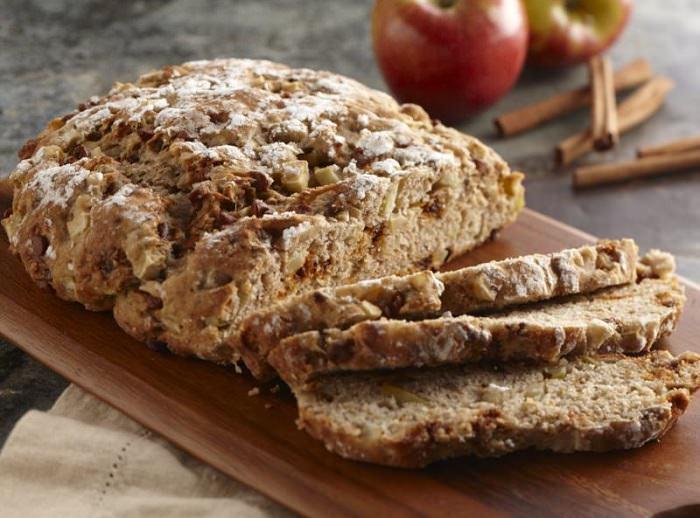 מתכון ללחם תפוחים וקינמון