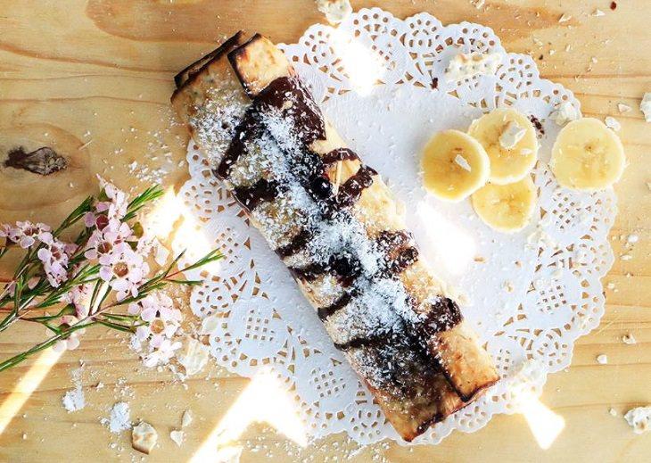 מתכון לבלינצ׳ס מצה מגולגלת מסקרפונה ושוקולד של הודליה כצמן