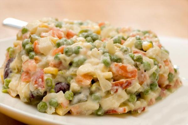 מתכון לסלט ירקות פולני מסורתי