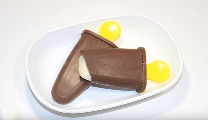 מתכון לגלידת וניל בציפוי שוקולד מריר איכותי